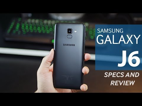 Samsung Galaxy J6 - Reviews and Specifications (2018)