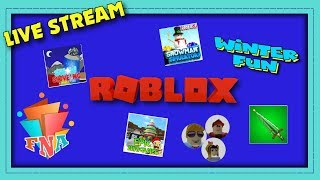Special winter FUN with FNA Nation Roblox Live Stream!!!