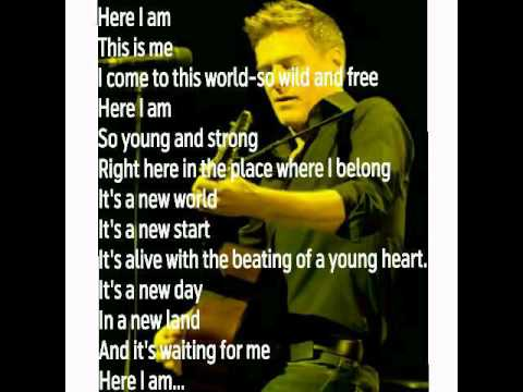 Bryan Adams - Here i am(Instrumental) with Lyrics.