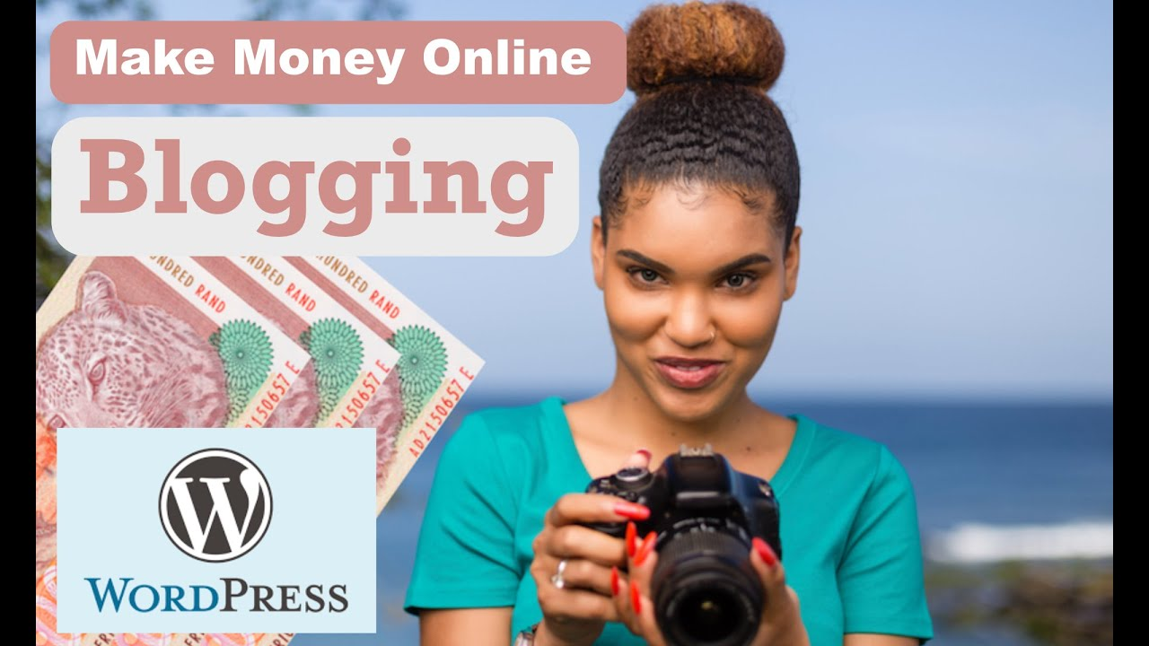 ????How to make money online Blogging in Africa ????