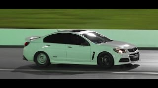 VF SS SUPERCHARGED COMMODORE RUSSO PERFORMANCE 10.50 @ 131 MPH SYDNEY DRAGWAY 6.5.2015