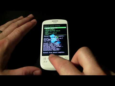 Flashing Proximus HTC Magic To Android 2.1