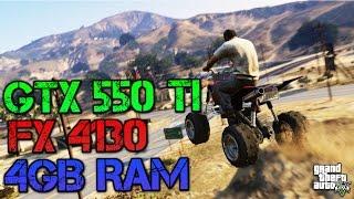 Grand Theft Auto V On GTX 550 Ti