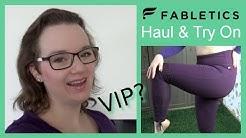 Fabletics Haul & Try On | VIP-Mitgliedschaft | ZuhausBeiLara