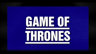 Jeopardy! | GAME OF THRONES Category Highlight thumbnail