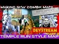 Let's Make: Temple Run Style Custom Zombies! COD Black Ops 3 Mod Tools Development PART 2