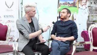 ESCKAZ in Moscow: Interview with Elnur Huseynov (Azerbaijan) (English subs)