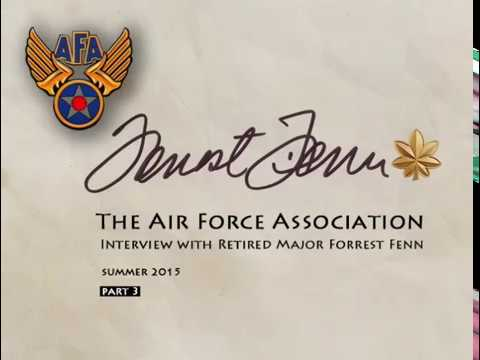 Forrest Fenn Interview for the Air Force Association - Shot Down