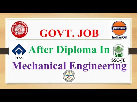 GOVT Jobs after Mechanical Engineering