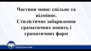 Урок 1. Українська мова 11 клас