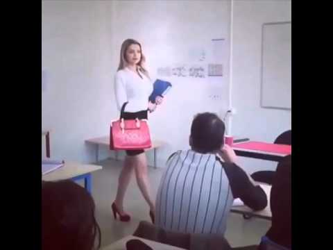 Hot class teacher boobs prank - The students was shock thumbnail