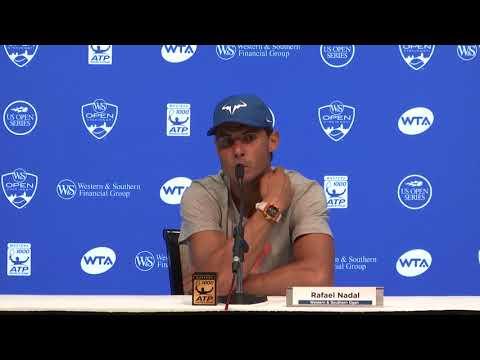 Rafael Nadal Press Conference / R2 Cincinnati 2017
