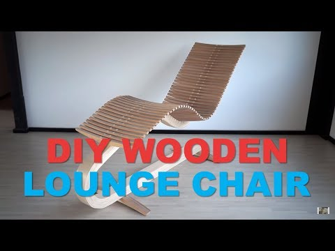 How to Make DIY Wooden Lounge Chair