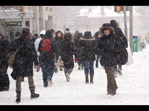Winter Storm Hammers New York