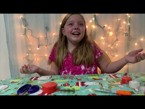 DIY PAPER SQUISHY SNOWMAN step by step how to.  NO CUTS Full video!