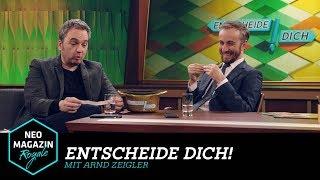 Entscheide dich! mit Arnd Zeigler | NEO MAGAZIN ROYALE mit Jan Böhmermann - ZDFneo