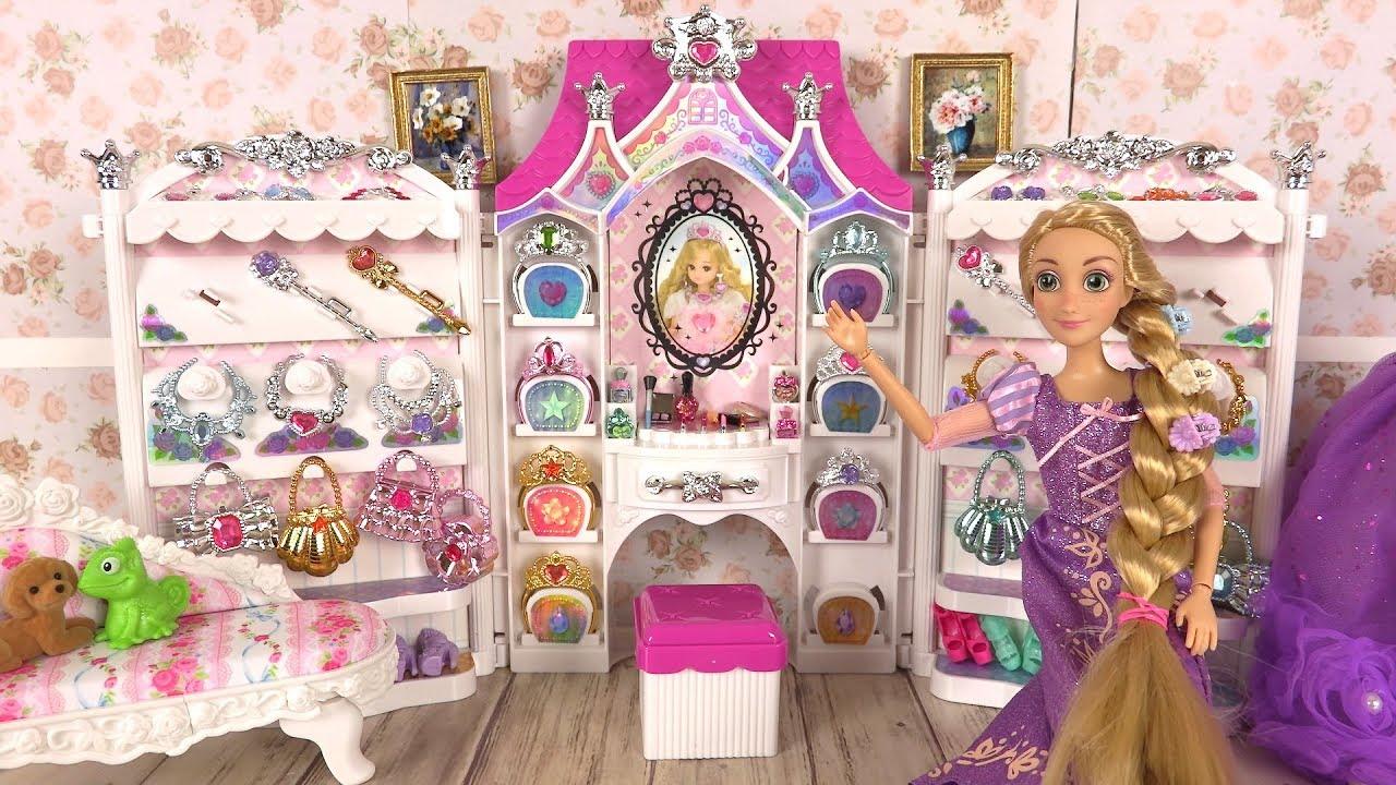 Poup es barbie robes de princesses bijoux accessoires for Robe de cendrillon pour mariage