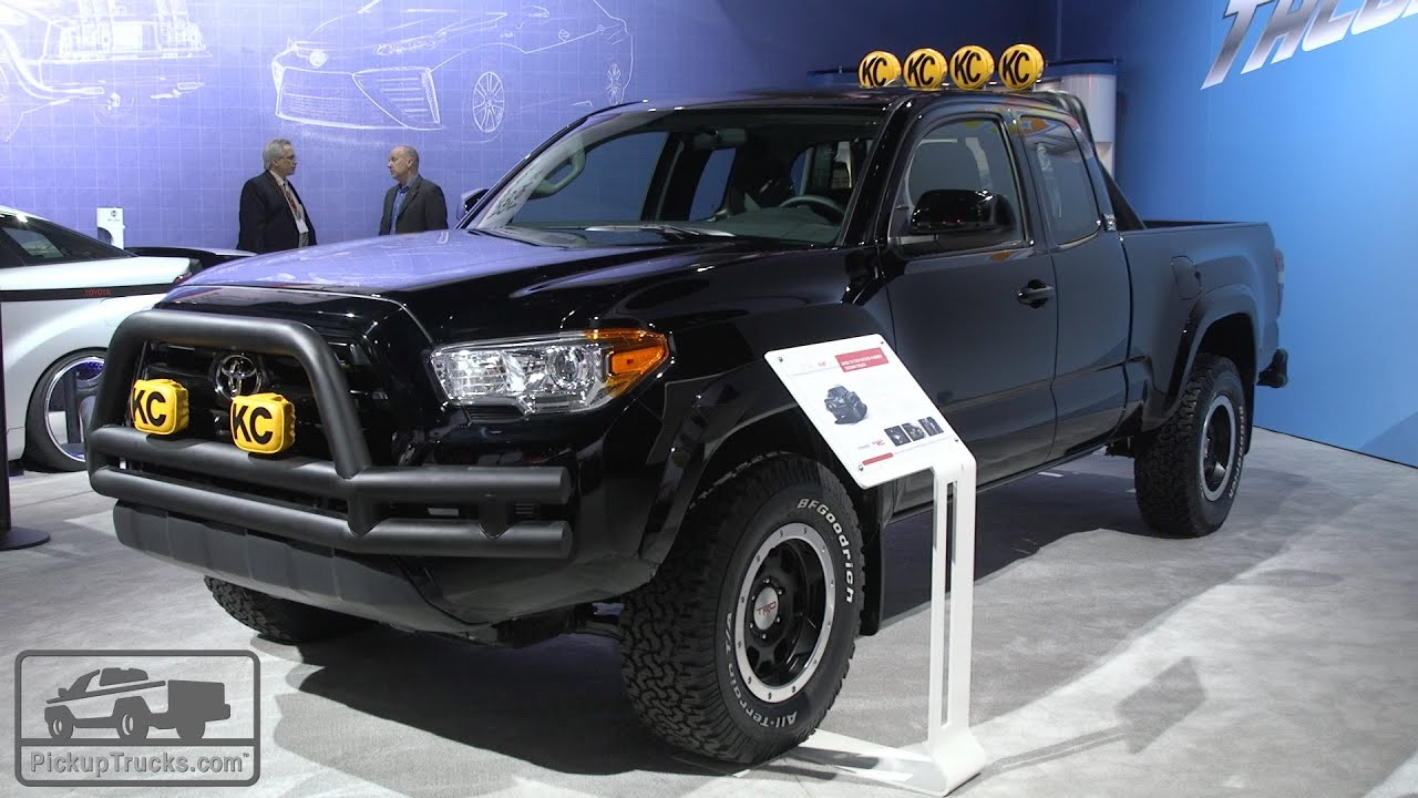 "2016 Toyota Tacoma ""Back to the Future"" - YouTube"
