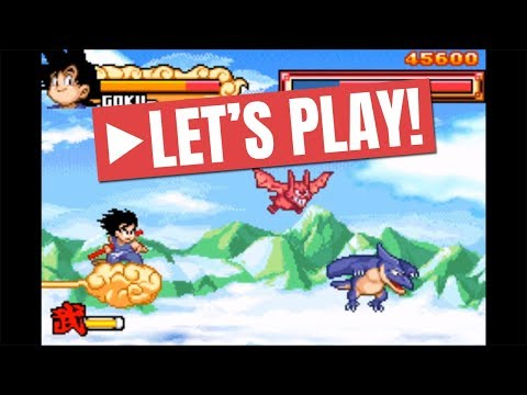 [Let's Play] Dragon Ball - Advanced Adventure (GBA) | Level 1 And 2 : Oolong Fight On Flying Nimbus