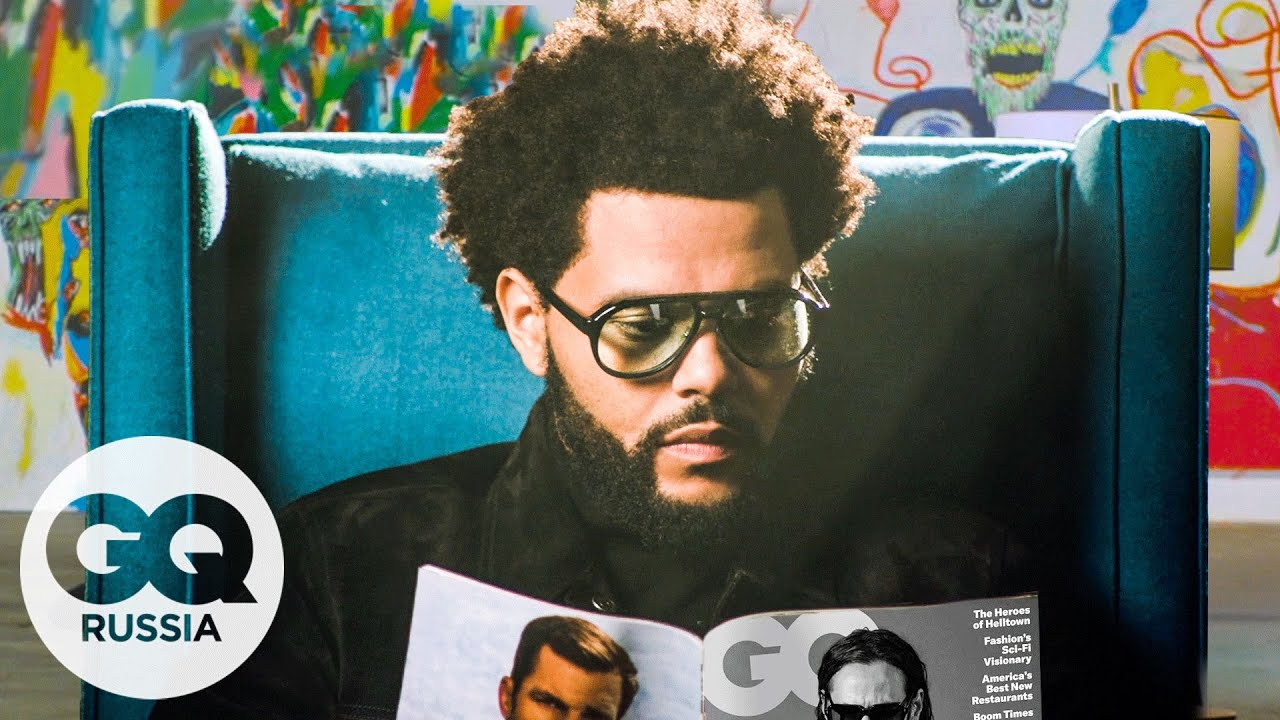 The Weeknd читает GQ до тех пор, пока не погаснет свет | GQ Россия
