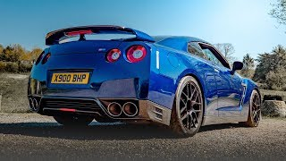 NICK'S 1000BHP NISSAN GTR *MONSTER* GET READY FOR TAKE OFF!!