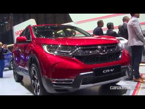 Honda CR-V - Salon de Genève 2018