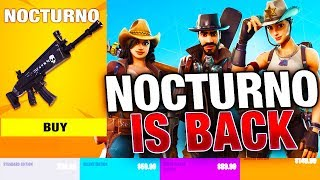 Nocturno Schematic Has RETURNED with UPGRADE PACKS! | Fortnite Save the World UPDATE