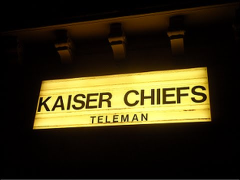 KAISER CHIEFS - Bataclan 2014 - Part 1/3