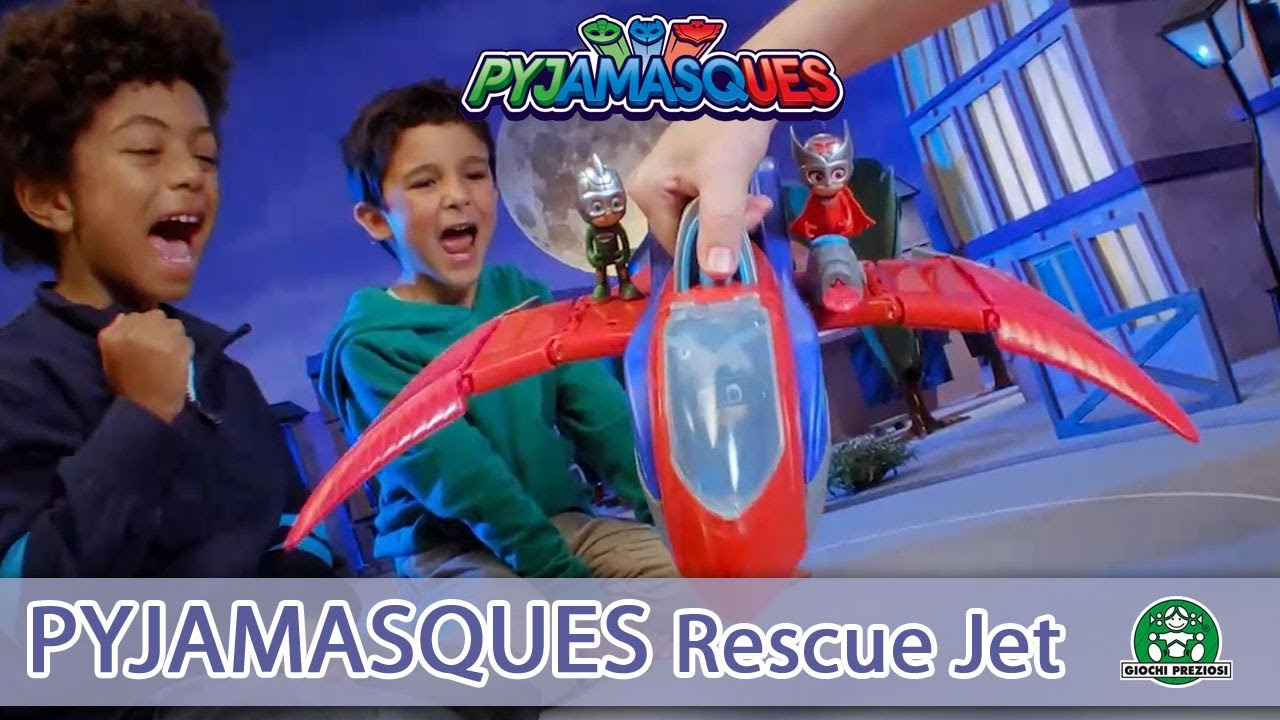 Pyjamasques / Rescue Jet / Pub TV / Giochi France
