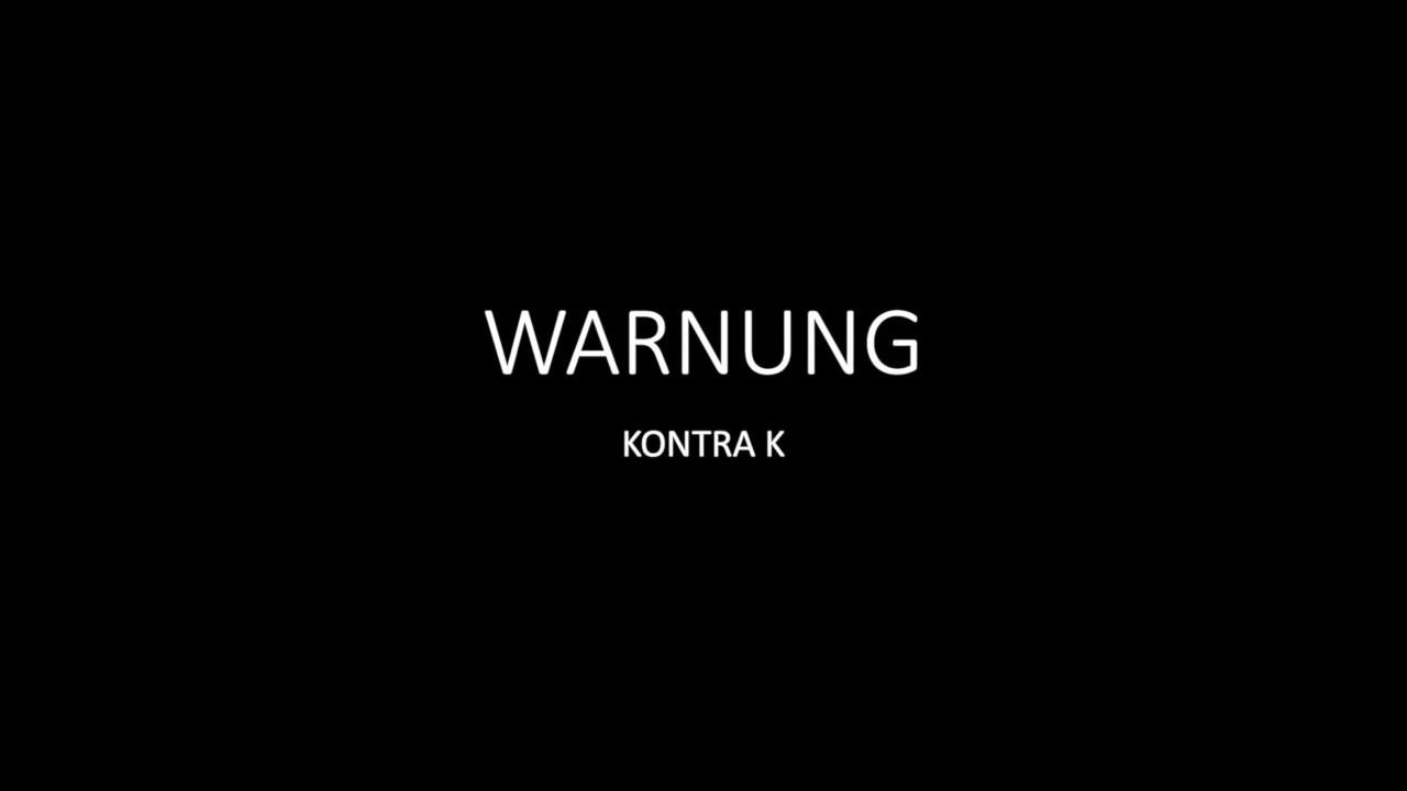warnung kontra k