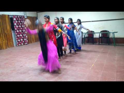 Healthcare Mission Showing Dance programme in GNI