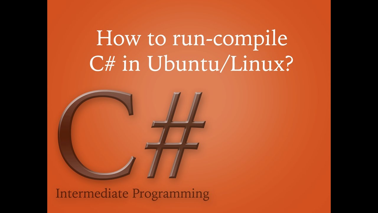 run c# exe in linux