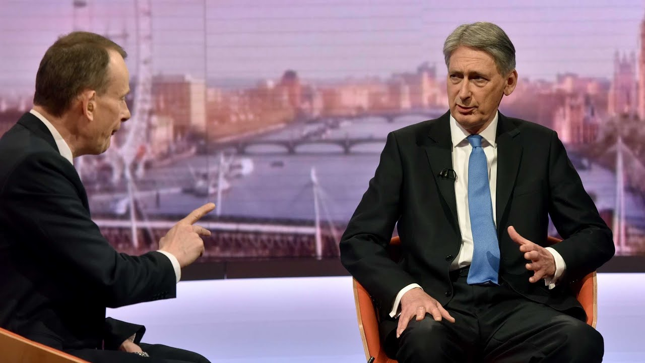 Philip Hammond on UK debt: 'There is light at the end of the tunnel'