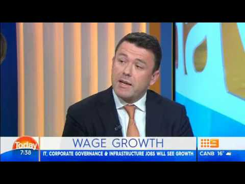 Australian FY18 employment predictions - The Today Show Sydney interview