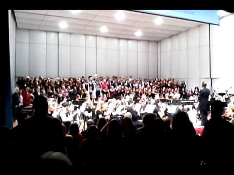 Fort Collins High School Hallelujah Chorus 2014