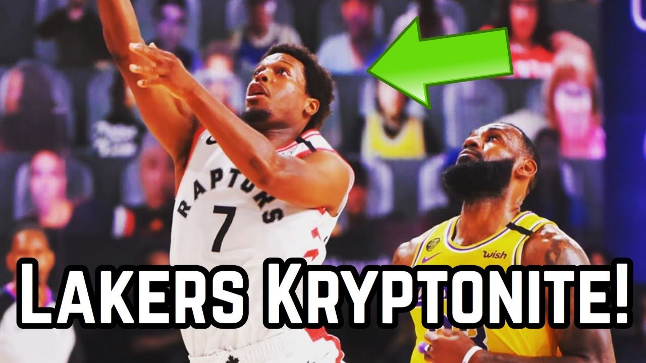 The Los Angeles Lakers Kyrptonite: The Toronto Raptors Are a NIGHTMARE Matchup for LeBron James!
