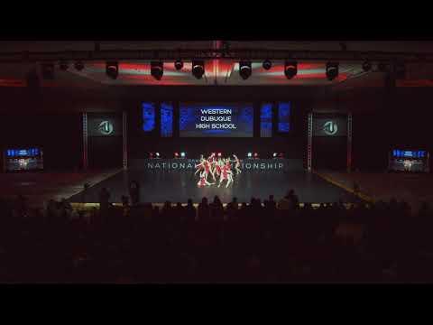2019 DTU Nationals Finals Small Varsity Jazz Western Dubuque High School