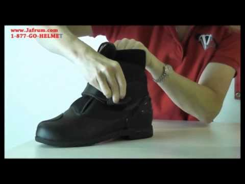MB2840 Mens Vega Night Train Motorcycle Boot Features Overview - Jafrum.com