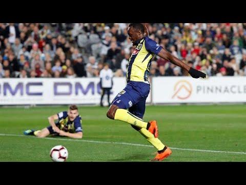 Usain Bolt estreia-se como futebolista