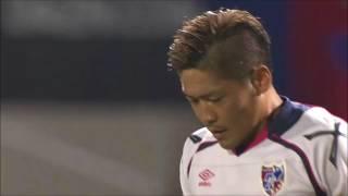 途中出場の大久保 嘉人(FC東京)が左サイドからの折り返しを冷静に流し...