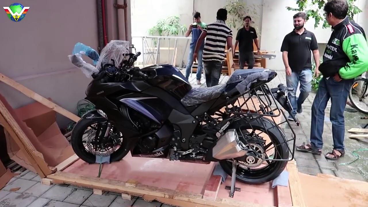 2019 Kawasaki Ninja 1000 Black Unboxing Walkaround The Best Sports