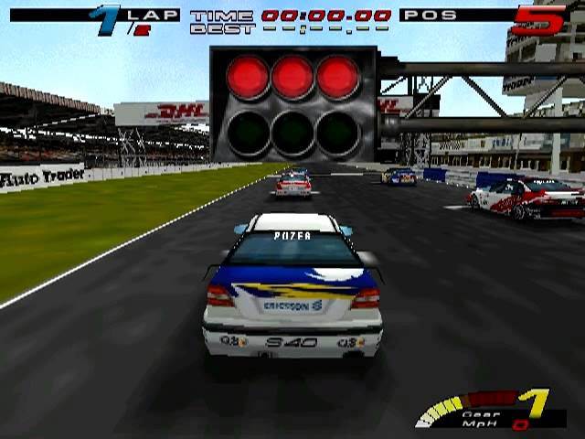 TOCA Touring Car Championship WinXP intro + gameplay