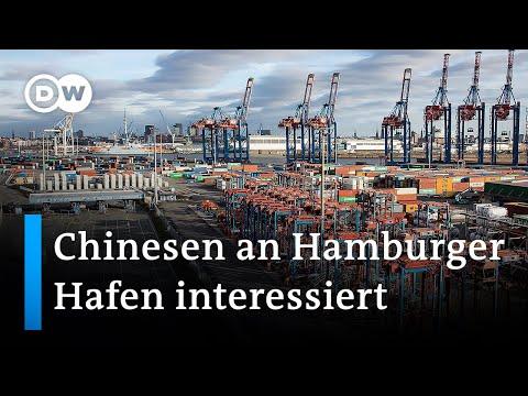 Chinesen wollen beim Hamburger Hafen einsteigen | DW Nachrichten