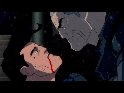 Темный рыцарь возрождение легенды мультфильм часть 3