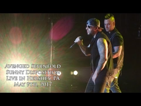 Avenged Sevenfold - Sunny Disposition (Live in Hershey 5/9/17)