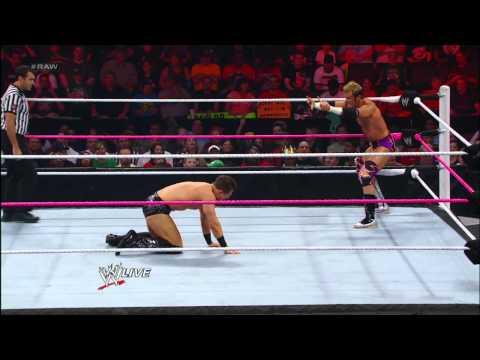 Zack Ryder vs. The Miz: Raw, Oct. 1, 2012