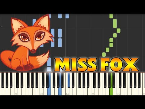 Miss Fox - Luo Ni [Piano Tutorial] (Synthesia)