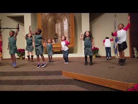 Aspire charter academy 2017 holiday concert Kindergarten