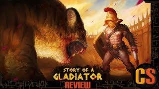 STORY OF A GLADIATOR - PS4 REVIEW (Video Game Video Review)