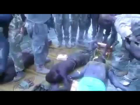 4 days fight without food and water! Watch Nigerian soldiers collapse in Alagarno Borno State